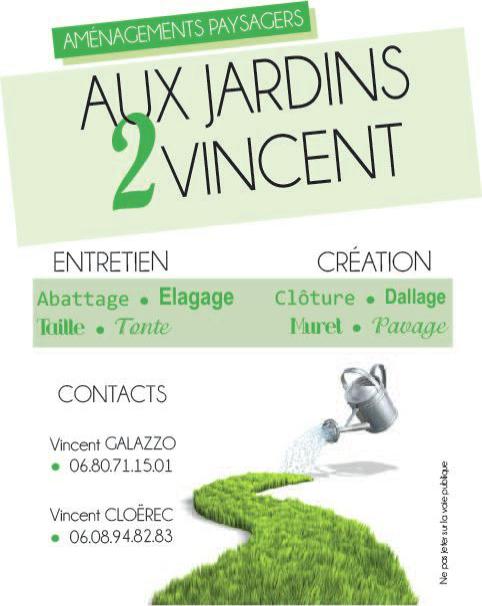 Sarl aux jardins 2 vincent contact for Entretien jardin 56450